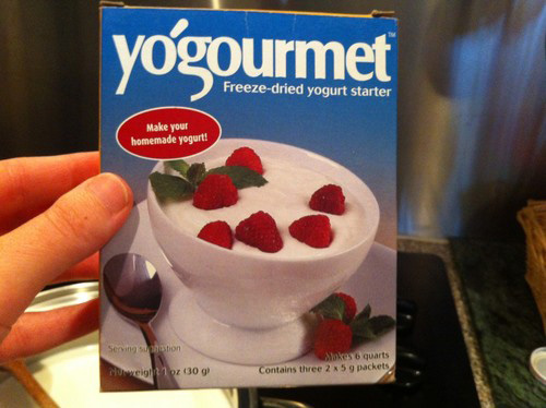 Freedom Of Health 24 Hour Homemade Yogurt Freeze Dried Yogurt Starter