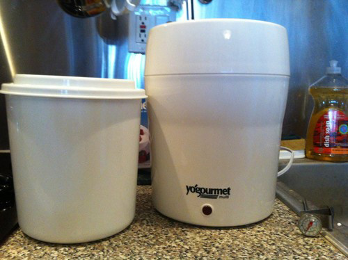 Freedom Of Health 24 Hour Homemade Yogurt Yogourmet Yogurt Maker