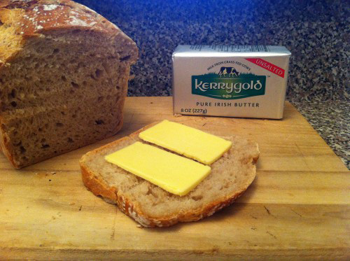 Freedom Of Health Sourdough Bread Slice and Butter