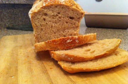 Traditional No-Knead Sourdough Bread